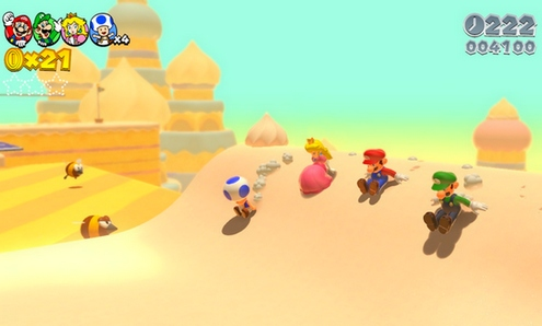 desierto super mario 3d world
