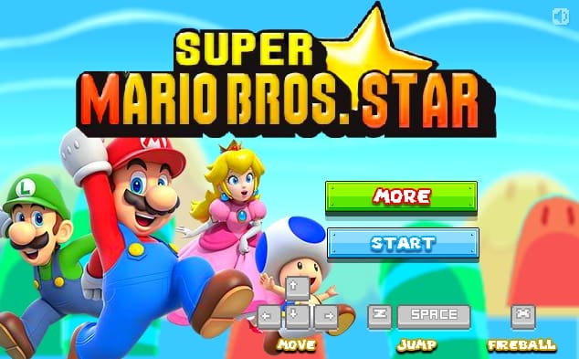 Super Mario Bros Star 2016